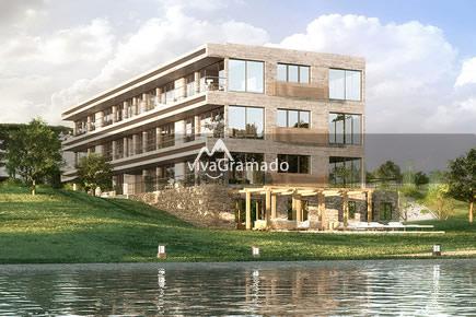 Laken Gramado Edificio Kristall