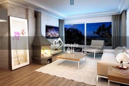 Apartamentos 3 suítes no Parque das Orquídeas em Gramado